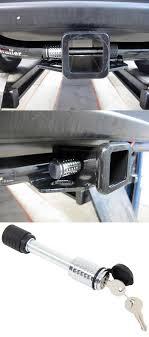 Trailer Hitch Receiver Lock - Flush Design For 2