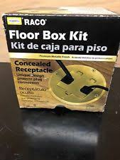 Hubbell Floor Box Catalog by Floor Receptacle Ebay