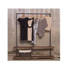 Clothes Rack Beautiful 90d Double Shelf Clothing Pipe Racks