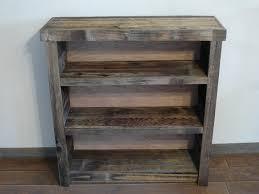 Reclaimed Barnwood Bookshelf Nursery