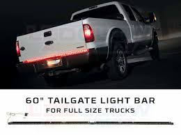 100 Truck Led Light Bar LEDGlow 60 Tailgate LED With White Reverse S For