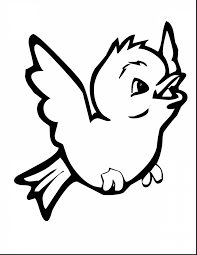 Good Bird Coloring Pages With Of Birds