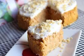 fruchtiger low carb karottenkuchen mit joghurtcreme