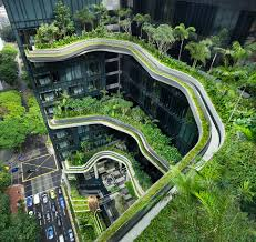 100 Hanging Gardens Hotel 15000 Square Meters Of Sky Connecting Singapores Parkroyal