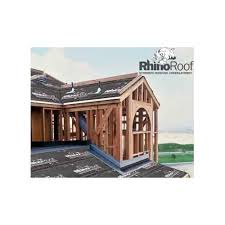 Titanium RhinoRoof Synthetic 15lb Felt Roofing Underlayment From