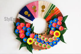 DIY Wall Decoration Idea How To Make A Paper Wreath For Home