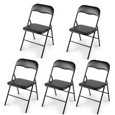5-Pack Plastic Folding Chairs Wedding Banquet Seat Premium Party Event  Chair Black White Chair Juves Party Events Wooden Folding Chairs Event Fniture And Celebration Stock Amazoncom 5 Commercial White Plastic Folding Chairs Details About 5pack Wedding Event Quality Stackable Chair Can Look Elegant For My Boda Hercules Series 880 Lb Capacity Heavy Duty With Builtin Gaing Bracke Mayline 2200fc Pack Of 8 Banquet Seat Premium Foldaway Utility Sliverylake Foldable Steel Rows Image Photo Free Trial Bigstock