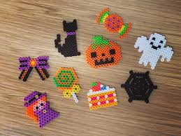 Halloween Hama Bead Patterns by Halloween Perler Beads By Perlerbeads Jp Beads Pinterest