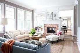 zwei sofas im wohnzimmer dekoration ideen kamin