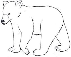 Beautiful Inspiration Bear Coloring Pages Preschool At Printable