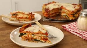 Rachael Ray Pumpkin Lasagna by Mile High Meatless Lasagna Pie