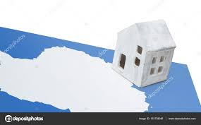 100 Antarctica House Small House On A Flag Stock Photo Michaklootwijk