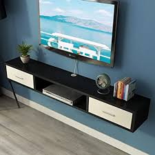 medienkonsole zur wandmontage retro tv schrank mit zwei flip
