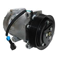 100 Ac Truck Parts AC Compressor Sanden AC Compressor BIG Machine