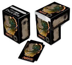 amazon com magic the gathering mana 4 deck box ajani