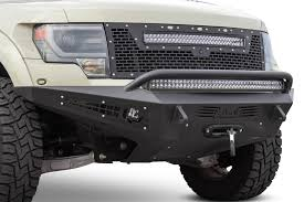 2010 - 2014 Ford Raptor HoneyBadger Winch Front Bumper: ADD Offroad ...