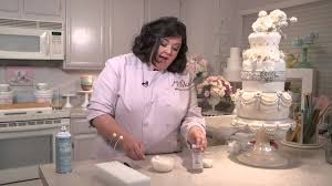 Cake Decoration Ideas With Gems by Marina Sousa U0027s Pearl Burst Embellishment Tutorial Craftsy Cake