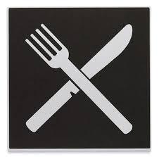 symbole cuisine plaque symbole restaurant direct signalétique