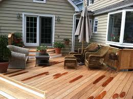 small backyard wood deck home u0026 gardens geek