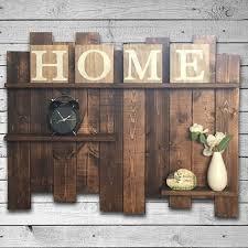 Rustic Pallet Shelf Wood Shelf Pallet Wall Rustic
