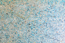 Surface Terrazzo Floor Blue Old Small Stone Color Texture Or Marble Background With Copy