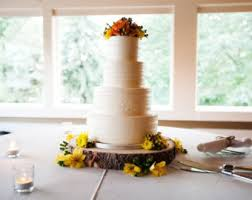 10 Rustic Wood Tree Slice Wedding Cake Base Or Cupcake Stand For Your Event And