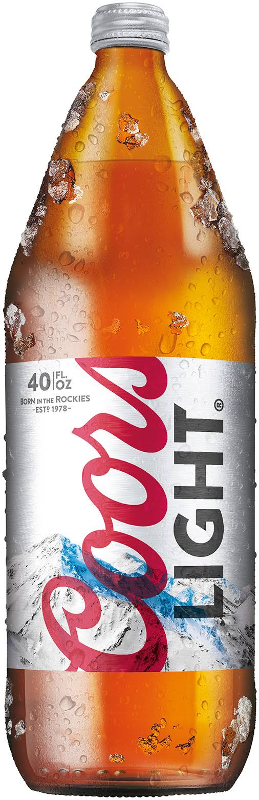 Coors Light Beer - 40 fl oz