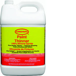 Crown Paint Thinner - 2.5gal