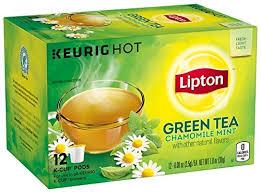 Lipton Green Tea For Keurig Single Serve Automatic Coffee Makers