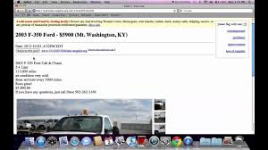100 Craigslist Kentucky Cars And Trucks By Owner Louisville For Sale By Ford Chevy