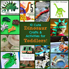 12 Cute Dinosaur Crafts And Activities For Toddlers Sunshine Whispers Sunshinewhisp