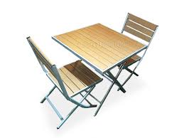 Foldable Table And Chairs, Outdoor