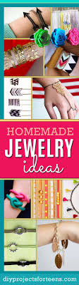 Looking For Fun DIY Jewelry Ideas And Step By Making Tutorials Teens Adults Love These Handmade Crafts Cool Homemade Fashion Gifts