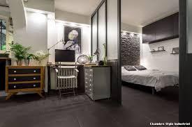 chambre style chambre style industriel with contemporain bureau à domicile