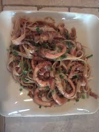 cuisiner l encornet linguine à l encornet cuisine du sud d italie et d ailleurs