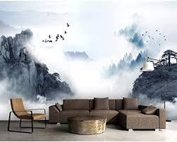 moderne hauptdekoration 3d fototapete chinesische tinte