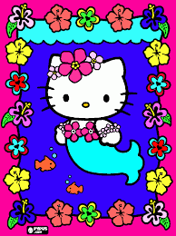 Lovely Hello Kitty Mermaid Coloring Pages 66 About Remodel Free Kids With