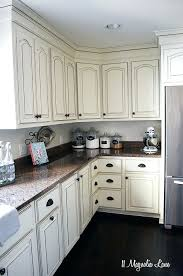 Off White Country Kitchen Cabinets Kitchens With Cabinet French