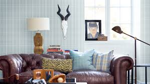 Stickman Death Living Room Hacked by 8 Masculine Wallpaper Ideas For Your Home