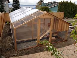 Ana White Shed Chicken Coop by Chicken Coop U0026 Greenhouse Combined Chickens U0026 Eggs Pinterest