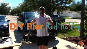 How To Make A Rod Holder For Pier Fishing - DIY - YouTube In Vehicle Fishing Pole Holder Youtube Best 25 Fishing Ideas On Pinterest Pvc Rod Spider Rigging Diy Vehicle Fly Rod Mount Surftalk Jeep Holder The Rivers Course Double Duty Pickup Rack Reel For Inside Truck Topper Walleye Message Titan Nissan Forum Homemade Holders For Trucks And Pole 5foot Bed New Product Design Need Input Truck Bed Rack Storage