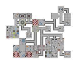 Starship Deck Plan Generator by Space Station Generator