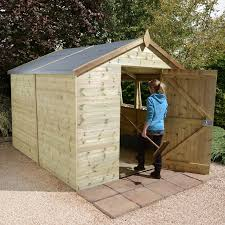 sasila 8 x 6 garden shed tongue and groove