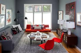 Red Living Room Ideas Pictures by 20 Red Chairs To Add Accent To Your Living Room Home Design Lover