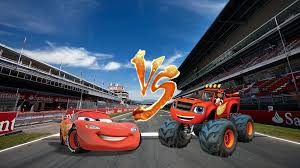 100 Lightning Mcqueen Truck McQueen VS Blaze The Monster By Wilsonasmara On