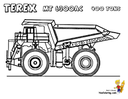 100 Construction Truck Coloring Pages Dump Awesome Inspirational Brain Page