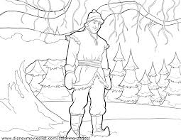 Printable Coloring Pages Of Frozen Characters Free Pdf Page Animation Movies Full Size