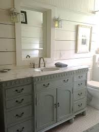 Wide Painted Vanity With Window Framed Mirror   Home Decor   Cottage ... White Beach Cottage Bathroom Ideas Architectural Design Elegant Full Size Of Style Small 30 Best And Designs For 2019 Stunning Country 34 Bathrooms Decor Decorating Bathroom Farmhouse Green Master Mirrors Tyres2c Shower Curtain Farm Rustic Glam Beautiful Vanity House Plan Apartment Trends Idea Apartments Tile And