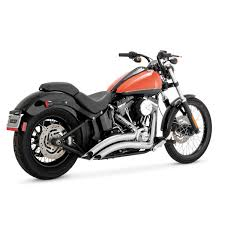 Vance And Hines Dresser Duals Black by Vance U0026 Hines Harley Davidson Exhaust Pipes J U0026p Cycles
