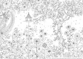 FREE ADULT COLORING PAGES 1 Secret Garden By Johanna Basford